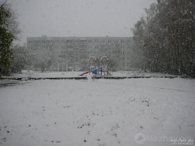 Первый снег.14.10.2007..JPG