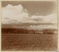Вид от памятника на Бородино. 1911. Фото Прокудина-Горского.