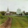 Общий вид Ферапонтовского монастыря близ Можайска. 1911г. Фото Прокудина-Горского.