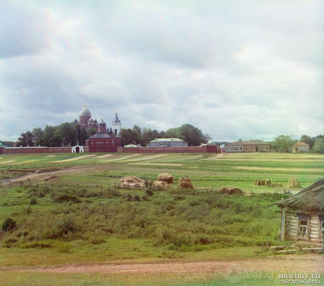 Спасо-Бородинский монастырь.1911г.  Фото Прокудина-Горского.