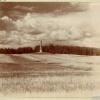 Общий вид памятника на Бородинском поле с юга. У Можайска. Бородино. 1911.  Фото Прокудина-Горского.