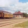 Станция Бородино. 1911.  Фото Прокудина-Горского.