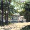 Бородинский Государев дворец . Открытка 1912г