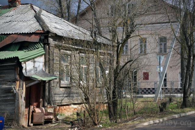 Старый дом на улице Фрунзе