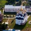 Можайский Лужецкий Рождества Богородицы Ферапонтов мужской монастырь (вид сверху)