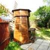 Мельница для колодца из состаренной древесины