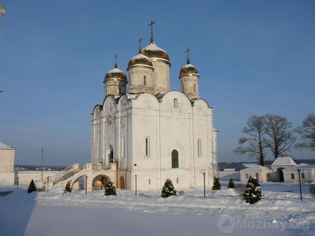 Лужецкий монастырь зимой. (7)