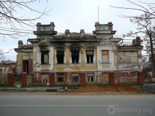 Усадьба Ролле после пожара. Октябрь  2007г.