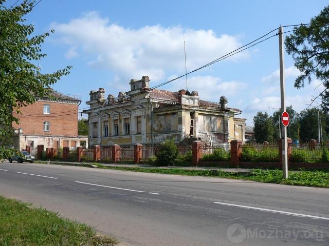 Усадьба Ролле до пожара. Август  2007г.