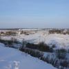 Москва река зимой.
