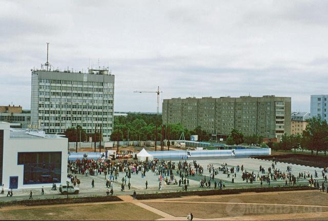 "Можайск. Открытие  ЛДС ""Багратион"".  2004 г.  Фото Н.Никитина"