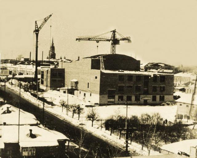 Можайск. Строительство ДК. 1960-70 гг.
