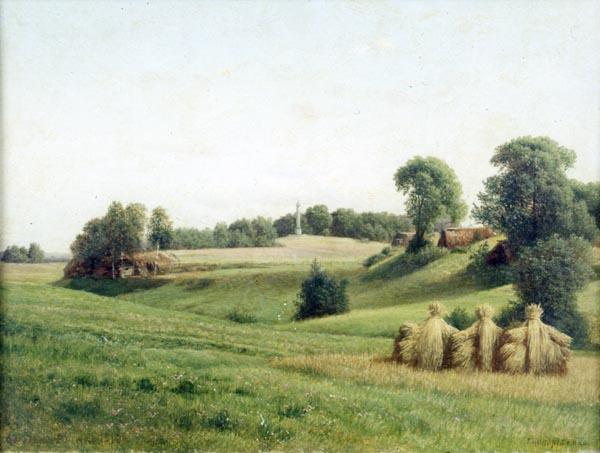 Главный монумент на Бородинском поле. 1910г.