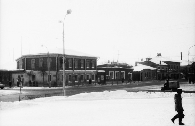 Можайск. Вид на старую почту. 1976 г.   Фото из архива Е.Парфентьевой
