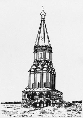 Борисоглебская церковь. Село Борисово.