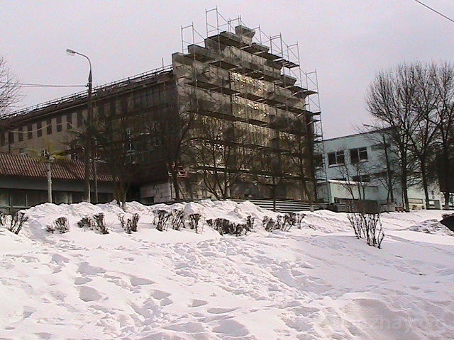 Строительство  ТЦ на ул. Павлова. 2009-2010 гг.