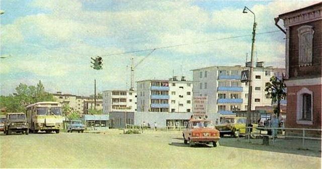 Центр города Можайска. 1980г..jpeg