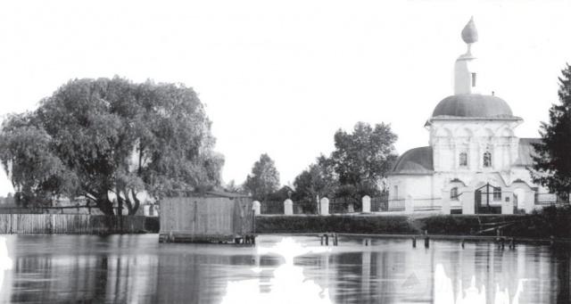 Храм Преображения Господня в деревне Сивково до 1917 года . Начало ХХ в.
