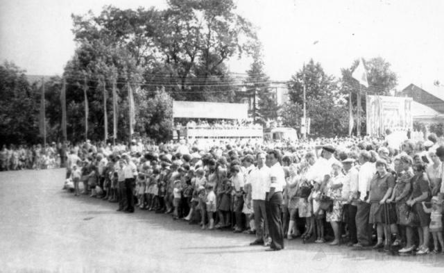 Празднование 750 лет Можайска (11). Фото В.Уколова