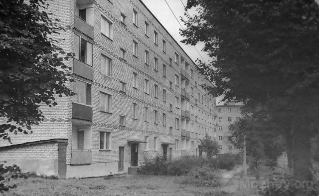 ул. Фрунзе д.№8 1980-е. Вид от военкомата.