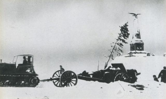 Горки в день освобождения. Январь 1942г.
