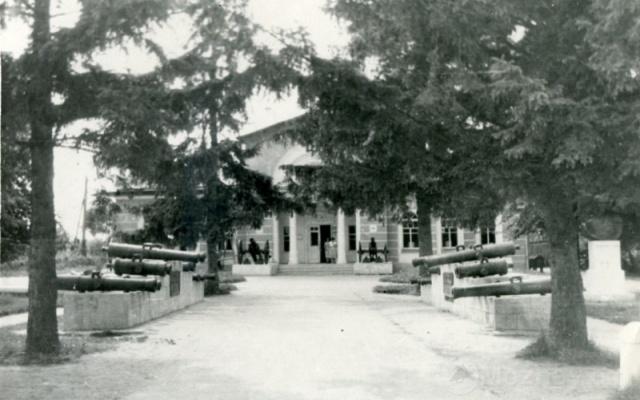 Бородинский музей. 1961г. Фото В.Уколова