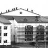 Строительство новой школы. 2007 г. Фото Т.Елагиной.