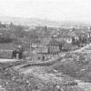 """Вид на улицу Клементьевскую  с """"полгоры"""". Примерно 1930-е.  Фото Кудринского Н.Н."""