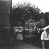 Можайск. Пионеры идут по ул. Клементьевской. Май 1967 г. Фото С.Парфентьева из архива Е.Парфентьевой.