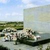 Памятник воинам русской армии и могила генерала П.И.Багратиона на батарее Раевского.  1974 г.