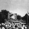 Можайск. Пионеры на митинге. Май 1967 г. Фото С.Парфентьева из архива Е.Парфентьевой.