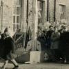 Колонна средней школы №1. 7 ноября 1962г.  Фото из архива В.Уколова