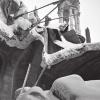 Развалины Никольского собора. Январь 1942 г. Фото Аркадия Шайхета.