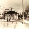 Можайск. Коммунистическая улица, впереди — здание бывшей «Союзпечати». Ныне — магазин «Пресса». Фото Аркадия Медведенко. 80-е годы прошлого века.