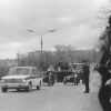 """Можайск. Московская улица. Везут """"Вечный огонь"""". 1985 год."""