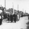 Можайск. Комсомольская площадь. 1 мая 1951 года.  Фото из архива Е.Парфентьевой