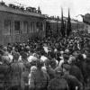 Проездом из Италии в Москву. Встреча Горького в Можайске. 1928 г.