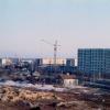 Строительство дома №6 по ул. Мира. 1987 г. Фото Н.Никитина