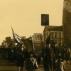 Колонна КЖИ-198 на демонстрации. Комсомоьская площадь.