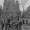 Спасо-Бородинский монастырь. Восточные ворота. Послевоенное фото. Фото из архива Зимаковой В.И.