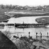 Старая плотина на Москва-реке.   Конец 30-х г. ХХ в. Фото Кудринского Н.Н.