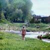 "Можайск.  У водокачки. ""Лягушатник"". 1977-78 год. Фото Н.Никитина"