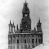 Никольский собор в Можайске разрушенный немецкими войсками. Февраль 1942 г. Фото Кислова. РГАКФД