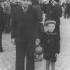 Можайск. Комсомольская площадь. 1 мая 1955 г. Фото из архива Е.И.Дорониной