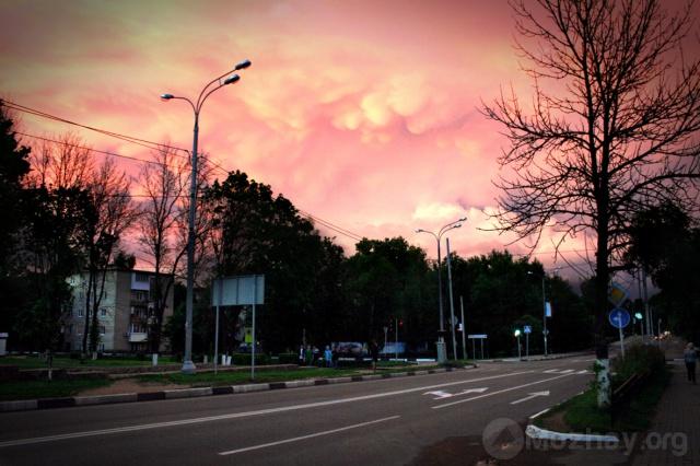 Красивое небо. Ул. Московская