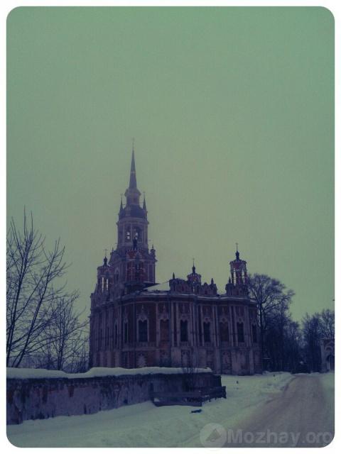 Никольский собор в Можайске, январь, 2013 г.