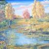 Заросший пруд. 2009 г.