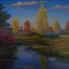 Осенний пруд. 2005 г.