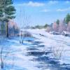 Зимний пейзаж. 2010 г.