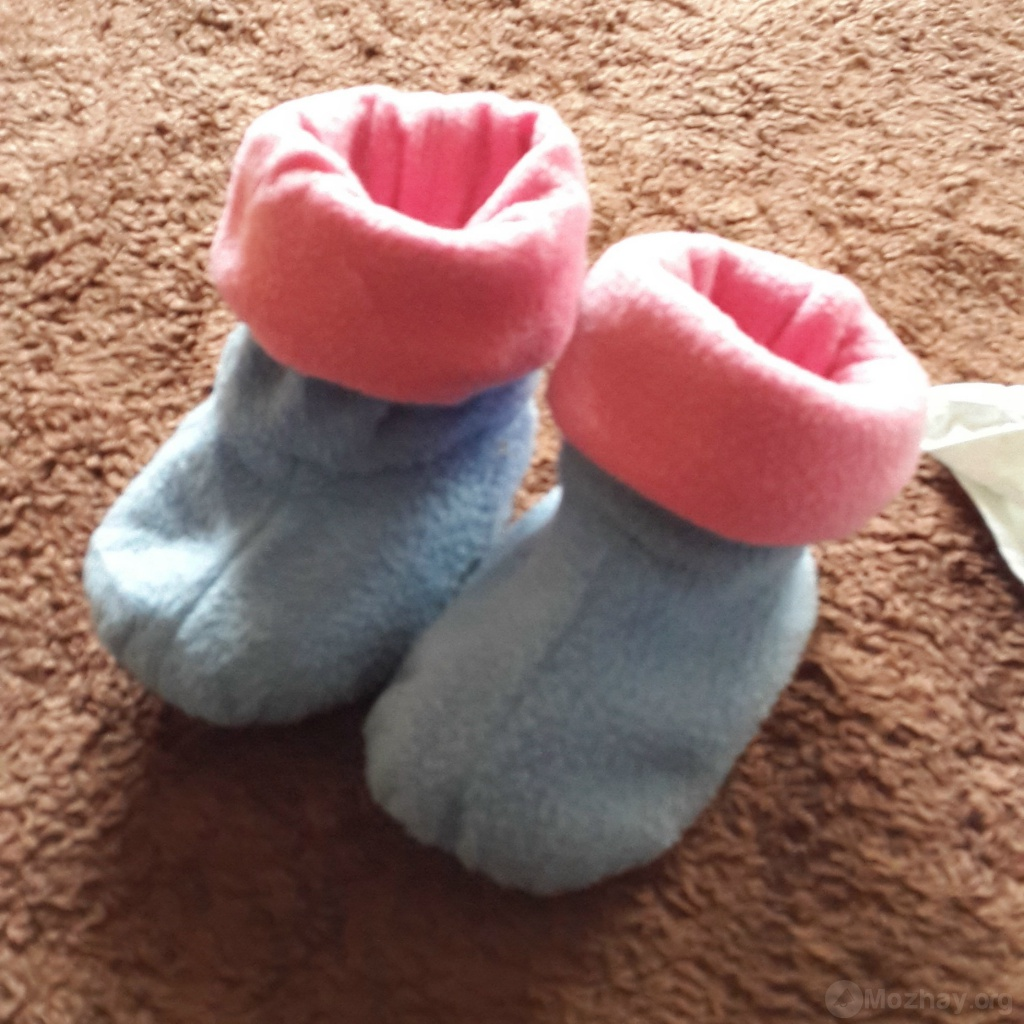 Детская домашняя обувь своими руками